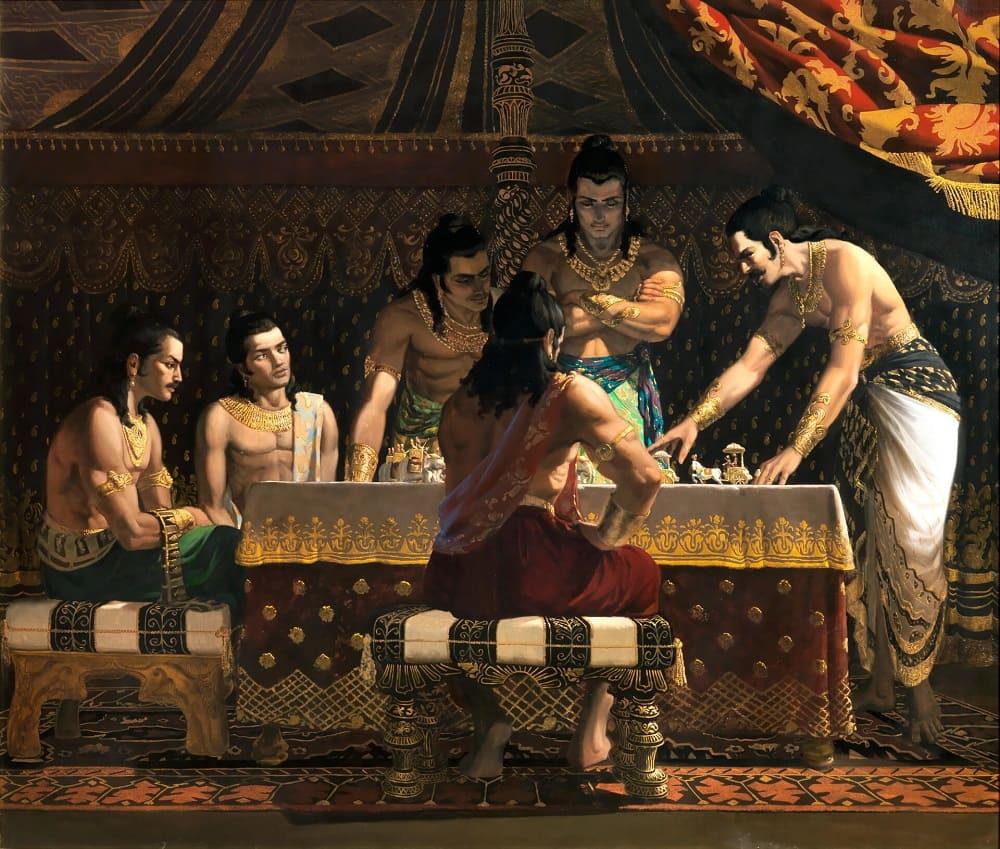 «Махабхарата» - сказание о великой битве на заре времён
