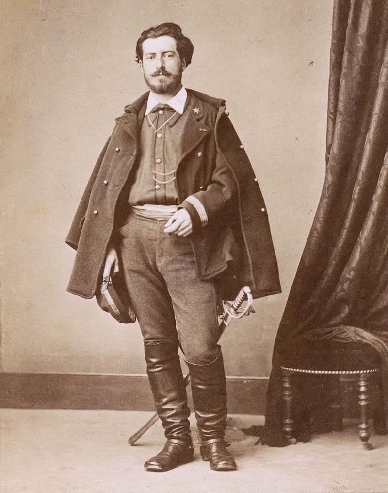 Фредерик Огюст Бартольди, известный французский скульптор, создавший Статую Свободы