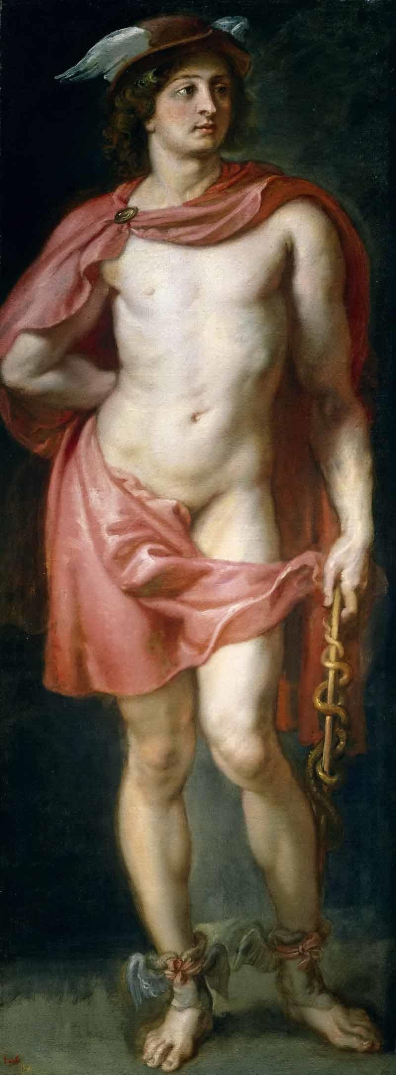 Гермес не рискнул сражаться с Лето и сразу признал своё поражение. Питер Пауль Рубенс «Меркурий» (он же Гермес), 1636-1638 годы Местонахождение: Музей Прадо, Мадрид, Испания