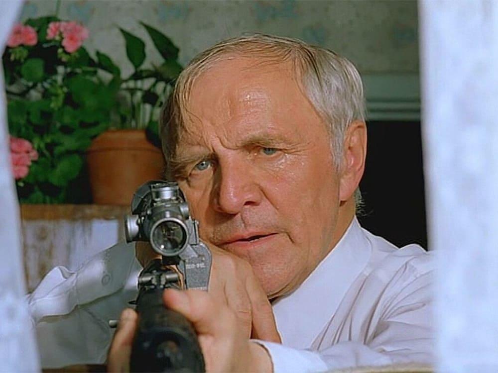 Герой фильма «Ворошиловский стрелок» (1995 год) Афонин, сыгранный Михаилом Ульяновым, стал воплощением образа народного мстителя