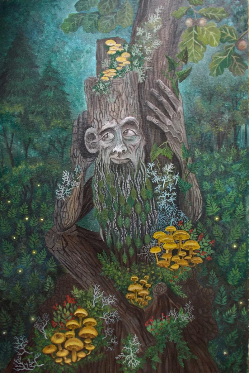 Главный враг Лиха Одноглазого - хозяин леса Леший / © Татьяна Вишнякова / artlib.ru