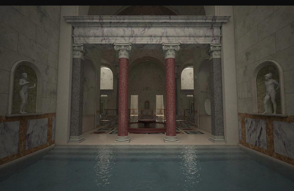 Изначально скульптура Апоксиомена находилась в римских термах / par-torg.com