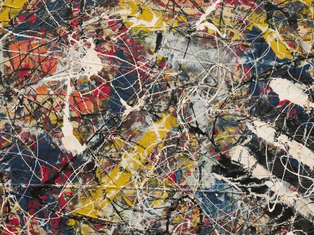 Кому-то это покажется безумием, но картина Поллока «Номер 17А» была продана в 2015 году за 200 миллионов долларов
