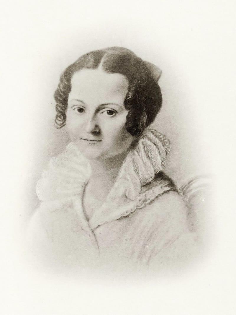 Мария Фёдоровна Достоевская, нежно любимая мама будущего писателя, 1823 год
