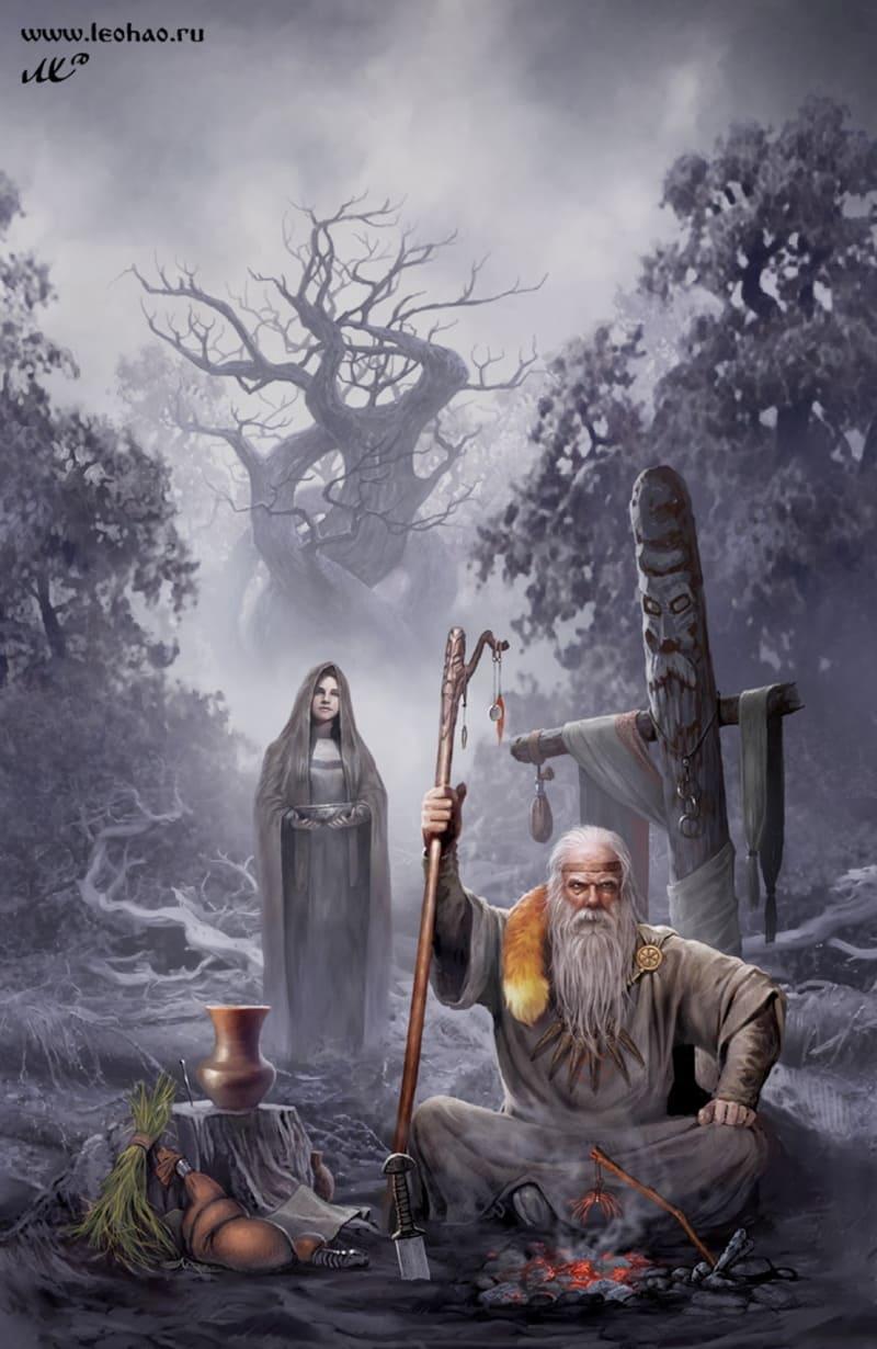 Нередко ведьмака можно было увидеть на кладбищах, где происходило его противоборство с нечистью / © Leo Hao / leohao.ru