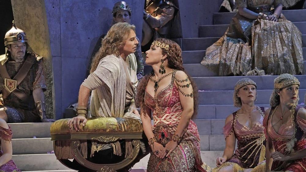 Опера Камиля Сен-Санса «Самсон и Далила» на сцене Метрополитен-Опера, Нью-Йорк, США / ja-tora.com