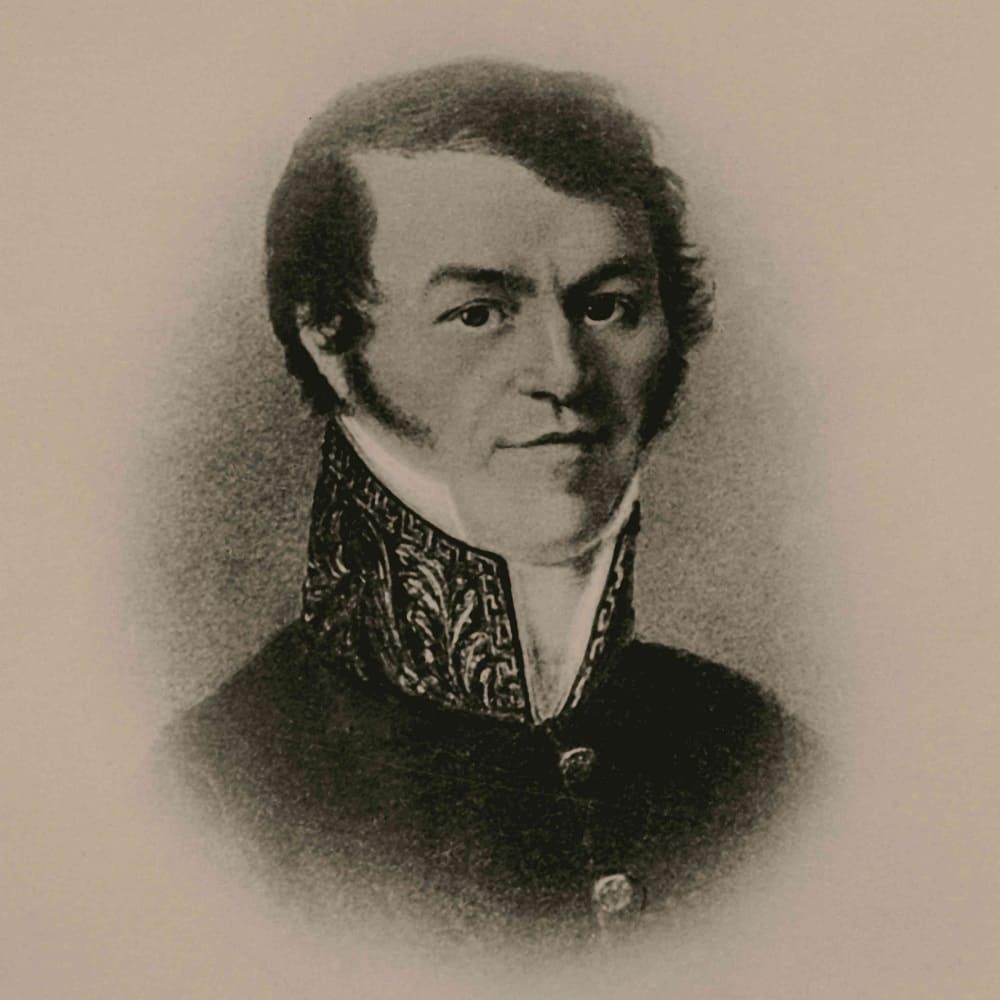 Отец писателя Михаил Андреевич Достоевский, 1823 год