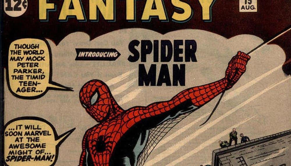 Первый комикс о человеке-пауке продан