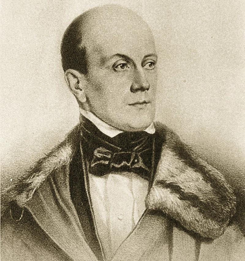 Пётр Яковлевич Чаадаев - один из возможных прототипов Чацкого