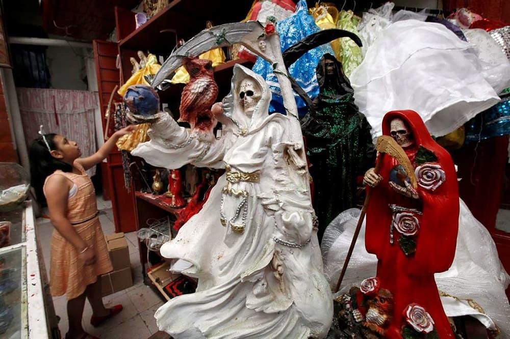 Санта Муэрте в Мексике / bolshoyforum.com