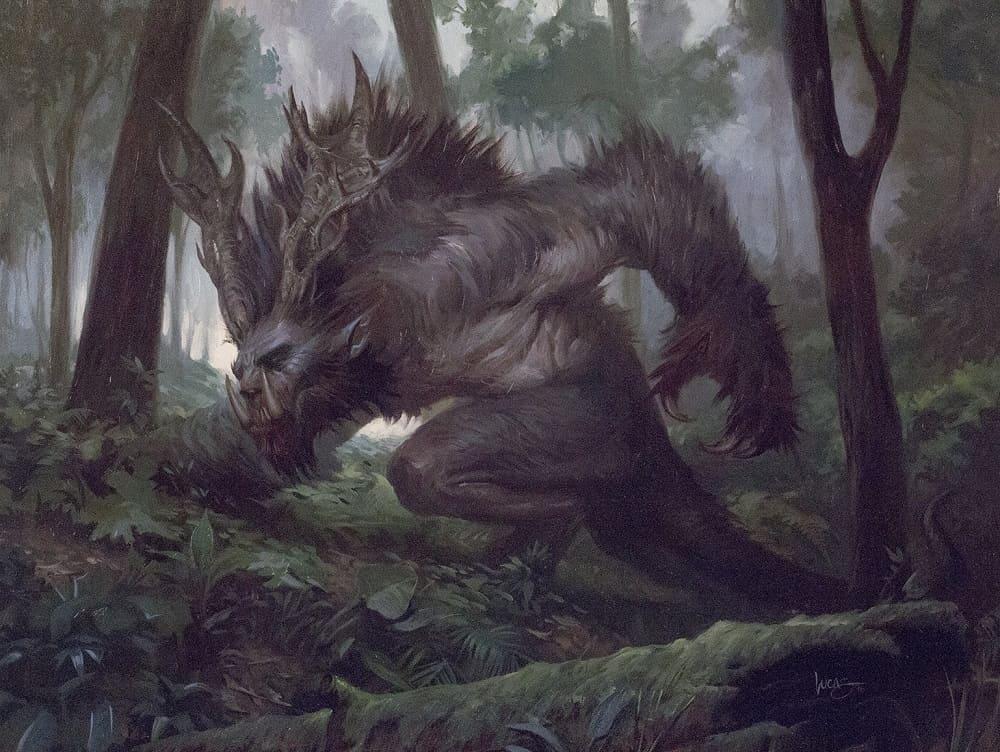 Цыгане рассказывали, что в лесах проживают жуткие лошоличи / © Lucas Graciano / artstation.com