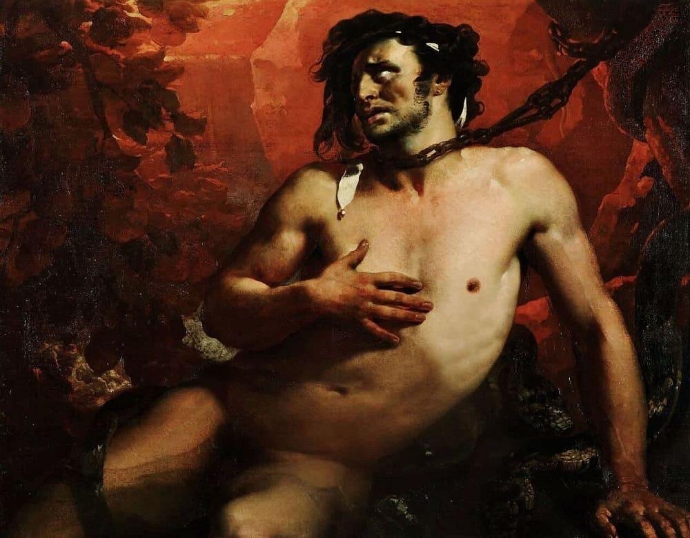 Тантал был обречён на вечные муки. Жан-Батист Мозайс «Тантал», 1819 год Местонахождение: Музей Пикардии, Амьен, Франция