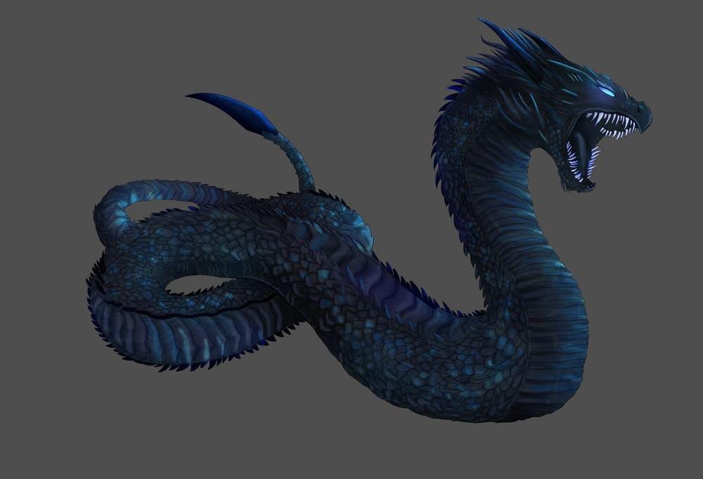 Василиск - царь змей / © Ana А.А. / artstation.com