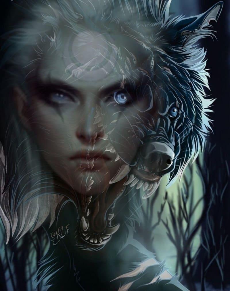 Ведьмы могли принимать облик животных, имея способности к оборотничеству / kartinkin.com