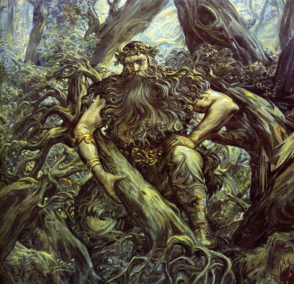 Возможно, Соловьём-разбойником называли некоего языческого жреца, стоявшего на пути распространения христианства / kartinkin.com