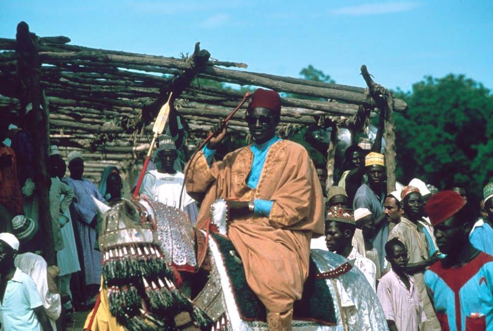 Всадник канури из Майдугури / © John Hutchison / search.library.wisc.edu