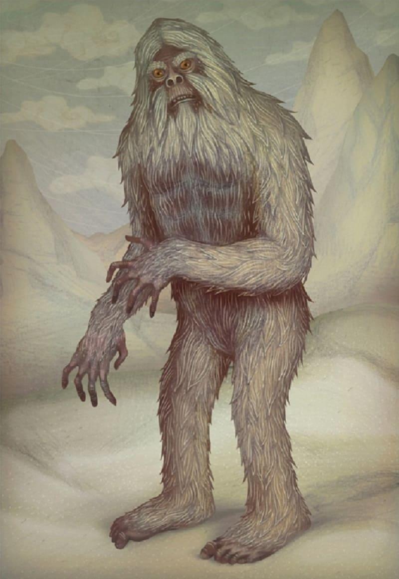 Жизнь снежного человека нелегка / © Владимир Станкович / bestiary.us