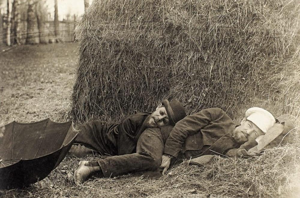Братья Антон и Александр Чеховы. Конец XIX века