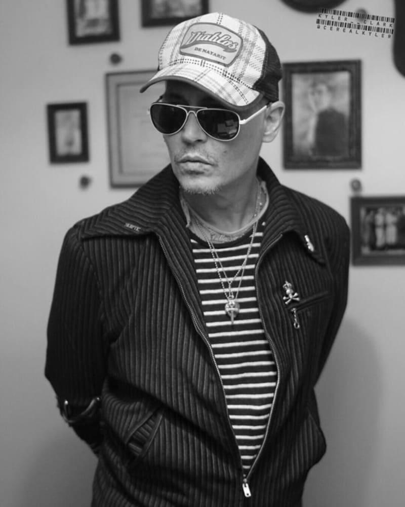 Джонни Депп в музее Маяковского / facebook.com/hollywoodvampires