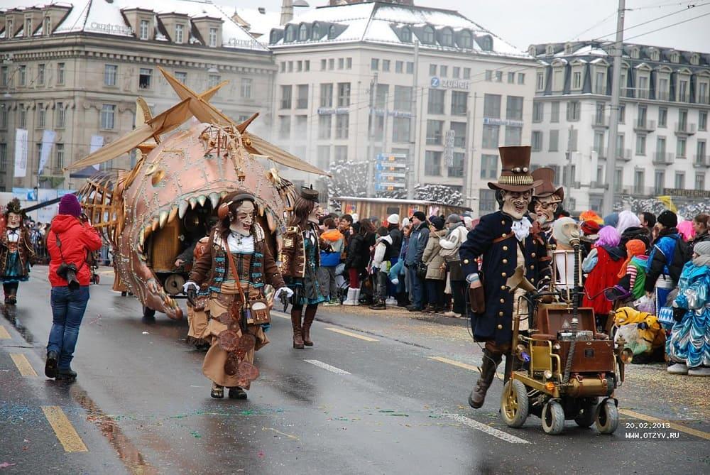 Фастнахт немцы празднуют с фантазией / © Лэйла / f.otzyv.ru