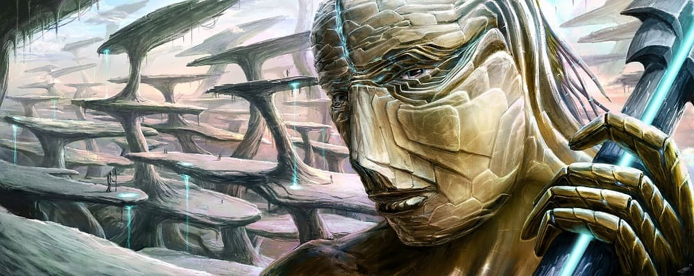 Каменные люди - это могучие великаны, у которых были каменные руки и ноги / © Rasto Cudo / artstation.com