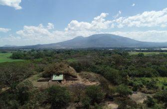 Ла Кампана, в центре вулкана
