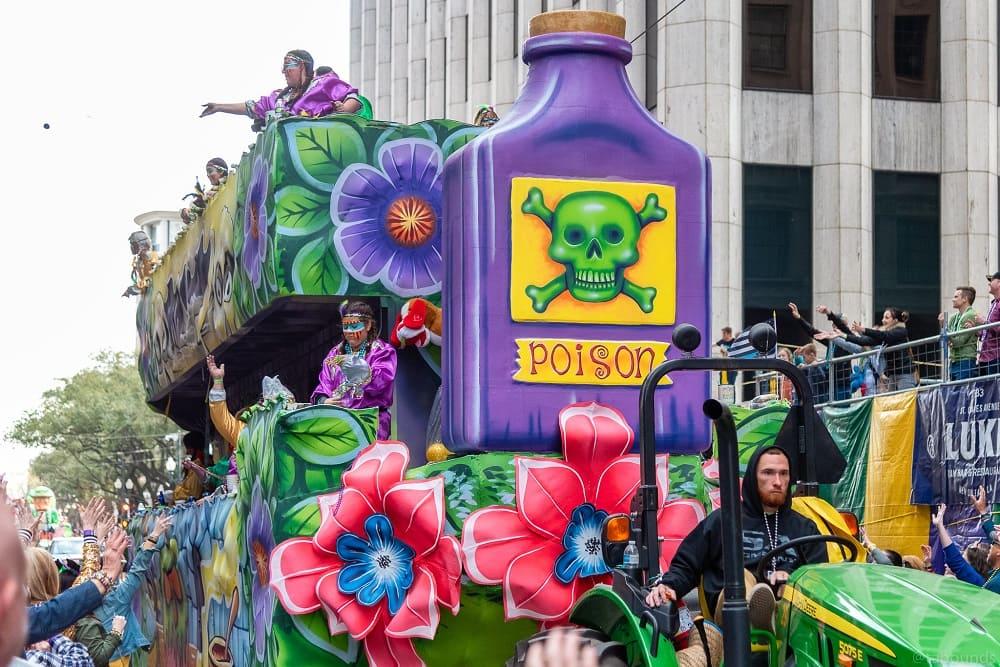 Марди Гра в Новом Орлеане - любимейший праздник / © Tim Bounds / flickr.com
