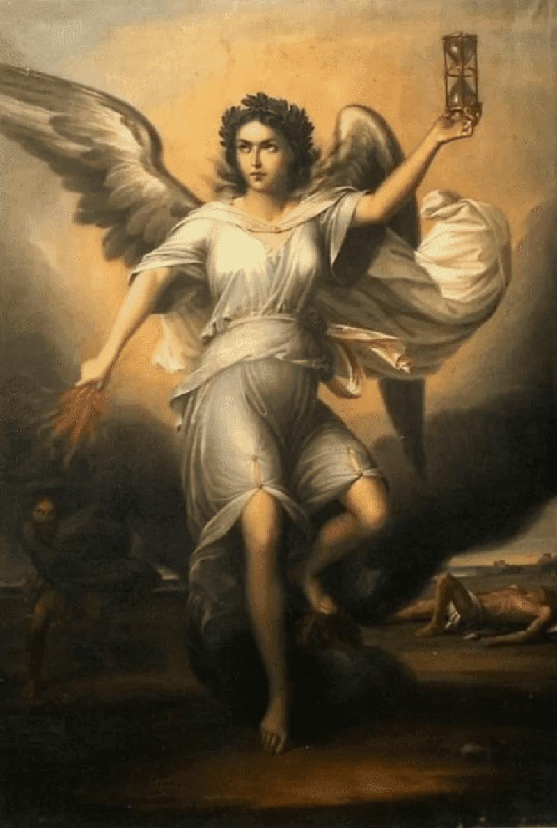 Очень достойная сестра Эриды - Немезида Георге Таттареску «Богиня Немезида»,1853 год Местонахождение: Частная коллекция