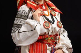 Праздничный костюм молодой женщины, Воронежская губерния, конец XIX - начало XX века - Айша Камчатка
