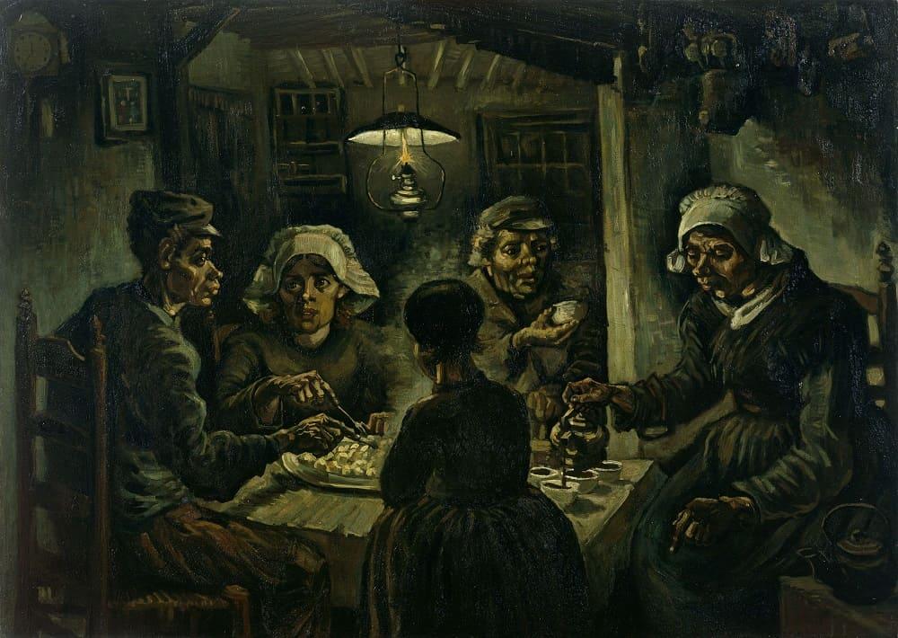 Винсент Ван Гог Едоки картофеля 1885 Музей Винсента ван Гога, Амстердам