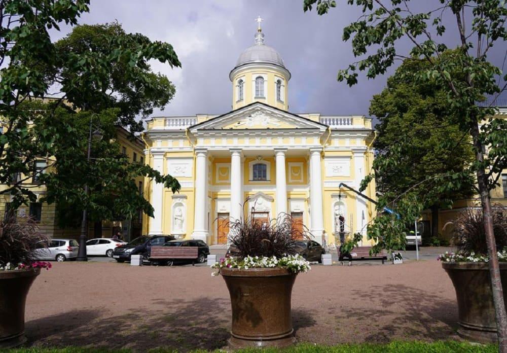 Храм Святой Екатерины на Васильевском острове